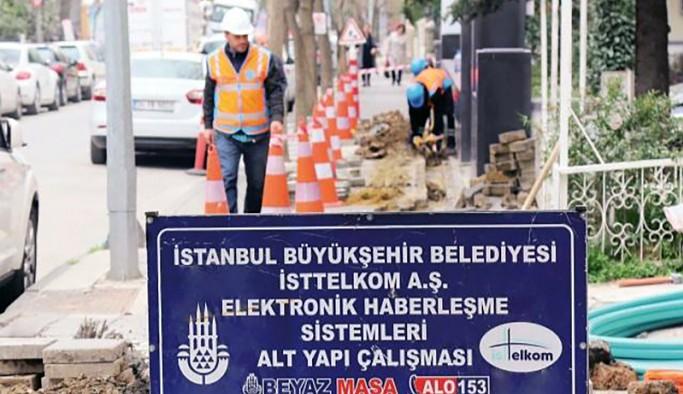 BTK'dan, İBB'nin internet altyapı çalışmalarına 2 cm uyarısı