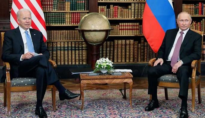 Cenevre'deki Biden-Putin görüşmesi sona erdi