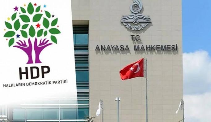 HDP iddianamesi için kabul istemi: Raportör ilk incelemeyi kabul etti