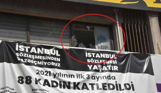 HDP İzmir İl Binasına saldırı: 1 partili yaşamını yitirdi
