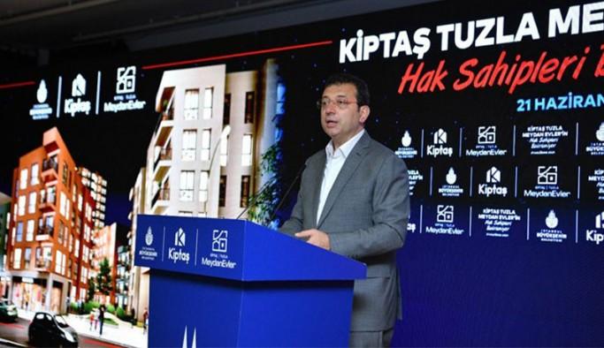 İmamoğlu: Bir sonraki seçimde İstanbul halkı bize, en az yüzde 60'ın üstünde oy verecek