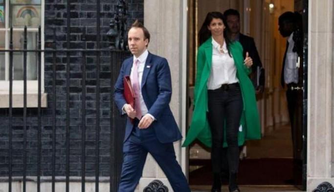 İngiltere Sağlık Bakanı Matt Hancock istifa etti