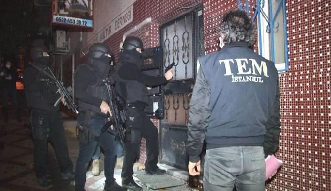 İstanbul'da 5 ilçede ev baskınları