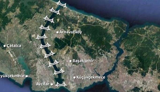 Kanal İstanbul için İSKİ alanına kurulan şantiye Hazine arazisine taşındı