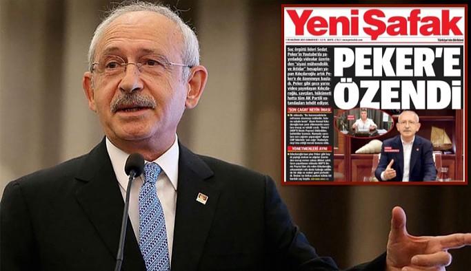 Kılıçdaroğlu Yeni Şafak'ın manşetini paylaştı: Trol algılarını yemeyin