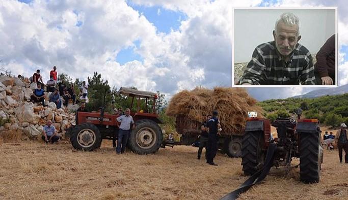 Patoza düşen yaşlı tarım emekçisi hayatını kaybetti