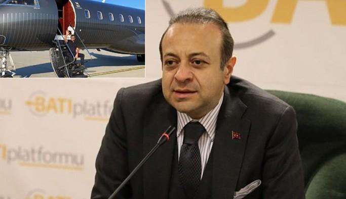 'Prag Büyükelçisi ve eski Bakan Egemen Bağış da SBK'nin uçağını kullananlar arasında'