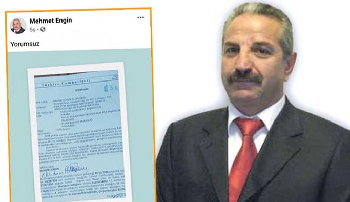 Rize'de AKP'li meclis üyesinden 'yorumsuz' istifa