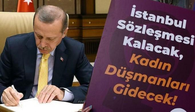 Saray'dan 'İstanbul Sözleşmesi' savunması: Çekilme kararı Cumhurbaşkanı'nın yetkisinde