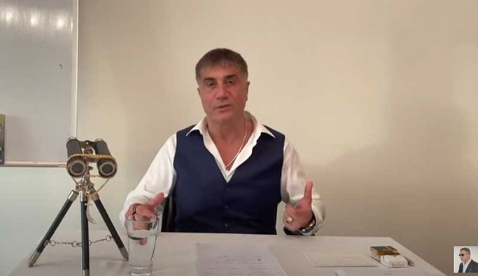 Sedat Peker'den yeni video: Size söz verdiğim gibi hepsini deli edeceğim