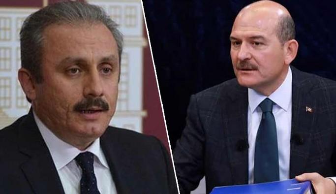 Şentop, 'mafyadan 10 bin dolar alan siyasetçi' iddiasını Soylu'ya sordu