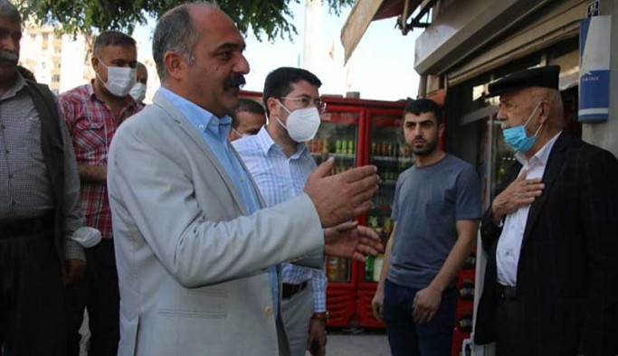 Şırnak'ta esnaf ziyareti