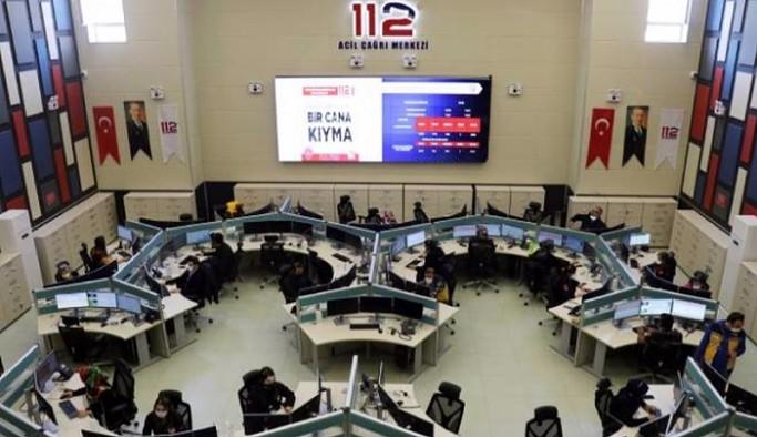 Şov için: Vali yardımcısının çağrı merkezi ziyaretinde sahte aramalarla 112 hattı meşgul edildi