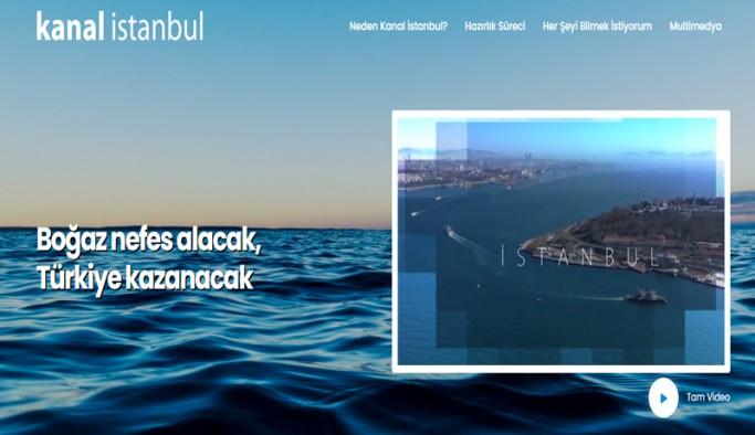 Tüm karşı çıkışlara rağmen iktidarın ısrar ettiği Kanal İstanbul'un yapımına ilişkin ikna sitesi kuruldu.