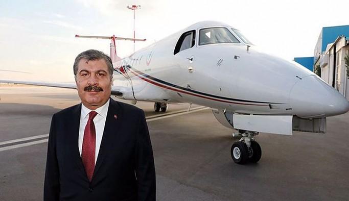 Yine uçak kiraladılar: Sağlık Bakanlığı kasasından Katarlı şirkete 200 milyon liranın üzerinde ödeme