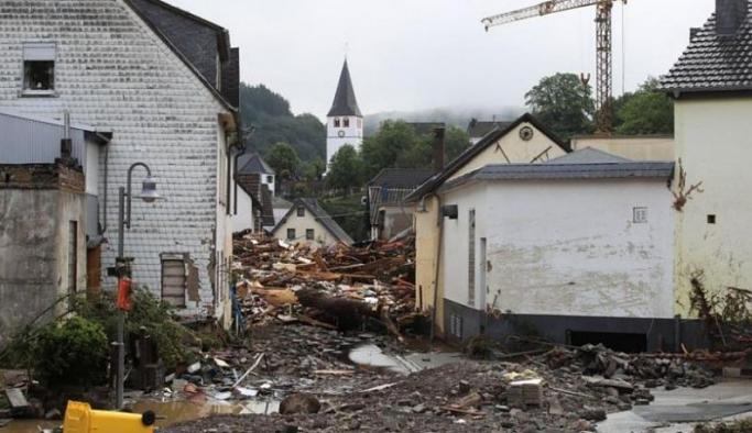 Almanya'da sel felaketi: Can kaybı sayısı 42'ye yükseldi