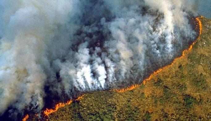 Amazonlar'da son 14 yılın en şiddetli yangınları yaşanıyor