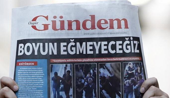 AYM, Özgür Gündem'in kapatılması hakkında ihlal kararı verdi