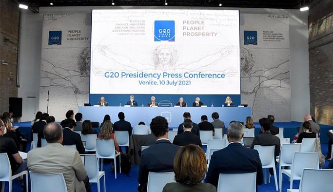 G20 ülkelerinin maliye bakanları küresel vergi konusunda anlaştı