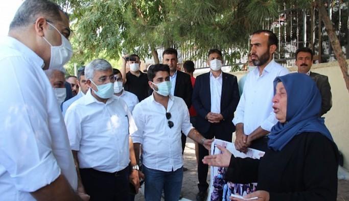 Gelecek Partisi'nden Şenyaşar ailesine ziyaret: Onurlu direnişinize destek veriyoruz