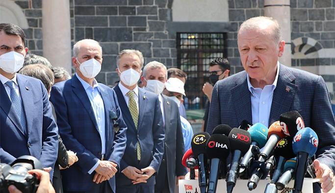 HDP'li Özsoy: Diyarbakır ziyaretinde can çekişen bir Erdoğan gördüm