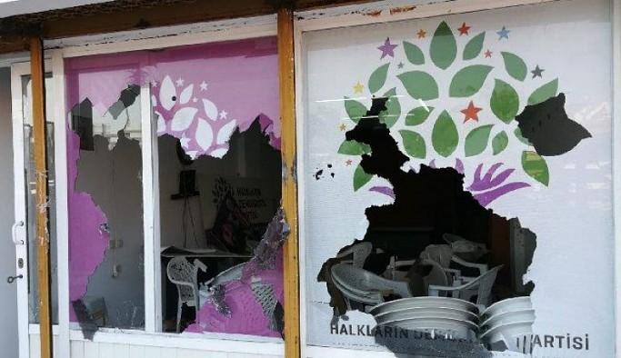 HDP Marmaris'e yönelik saldırıda gözaltı sayısı 3'e yükseldi