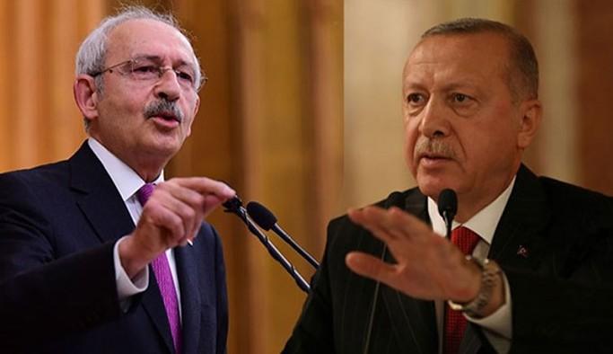 Kılıçdaroğlu'ndan Erdoğan'a: Yine prompter'da önüne ne konulduysa okumuşsun