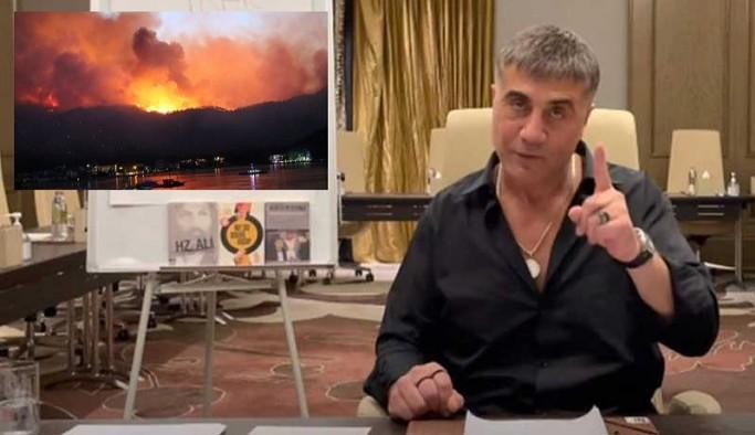 Sedat Peker: Yangınları HDP'liler çıkarıyor demek, binalarına saldırtma amacından başka ne olabilir?
