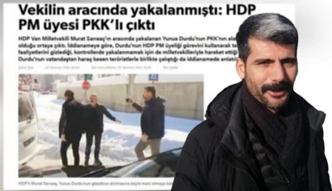 HDP'li Durdu'dan Yeni Şafak hakkında suç duyurusu