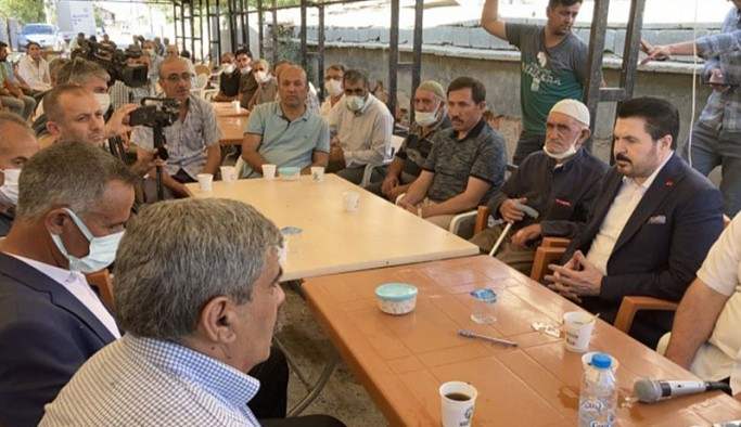Konya'daki taziye çadırından Savcı Sayan'a tepki: Biz Kürdüz, saf değiştirenlerden değiliz