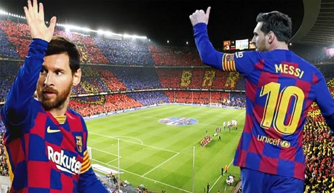 Lionel Messi Paris Saint Germain ile anlaştı
