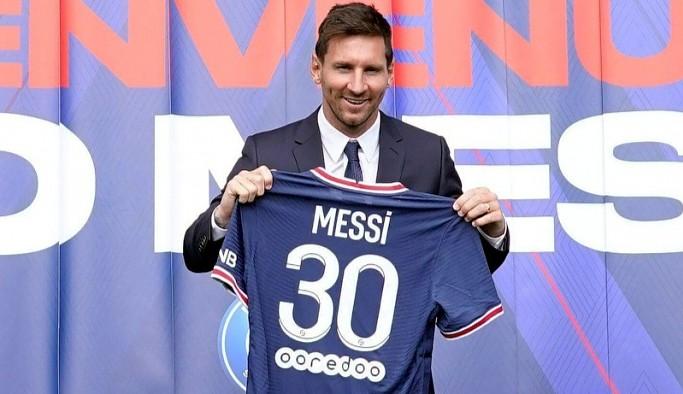 Messi'nin forması bir haftada bir milyondan fazla satıldı