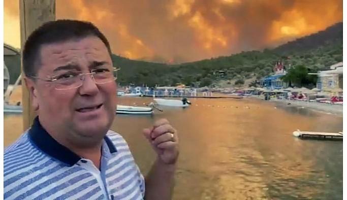Milas Belediye Başkanı: Sabah yangını söndürmüştük ama saat 11'e kadar müdahale etmediler