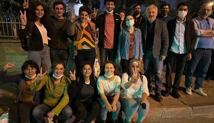 Ankara'da gözaltına alınan 11 kişi serbest bırakıldı