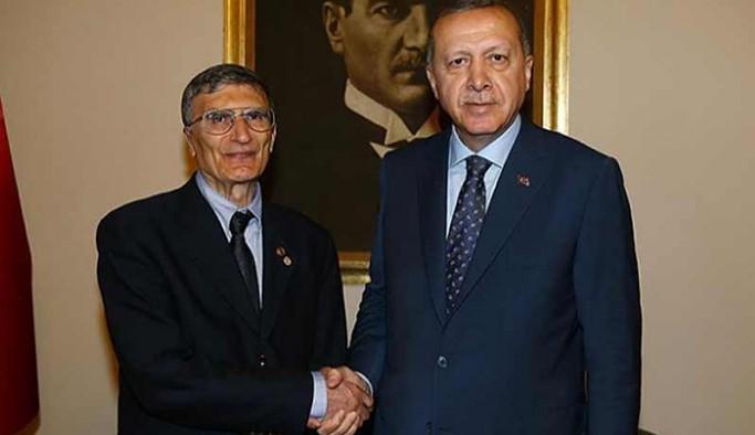 Aziz Sancar'dan Erdoğan'a uçak yanıtı: Benim sizin gibi uçağım yok
