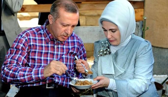 Emine Erdoğan'ın yemek kitabına bütçeden 1 milyona liraya yakın para harcandı