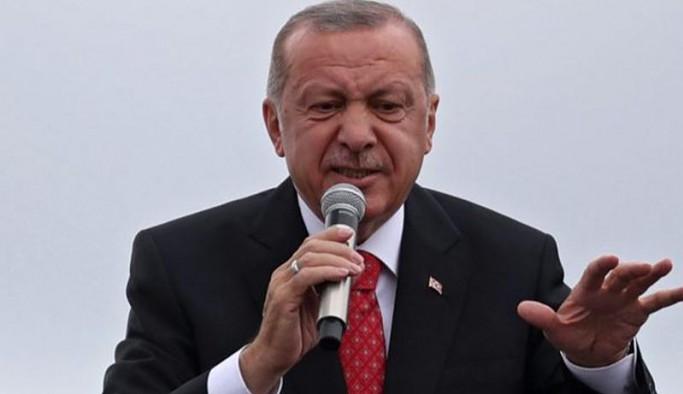 Erdoğan: Seçim öncesinde bol keseden dağıttıkları ne kadar vaat varsa hepsinin altında ezildiler