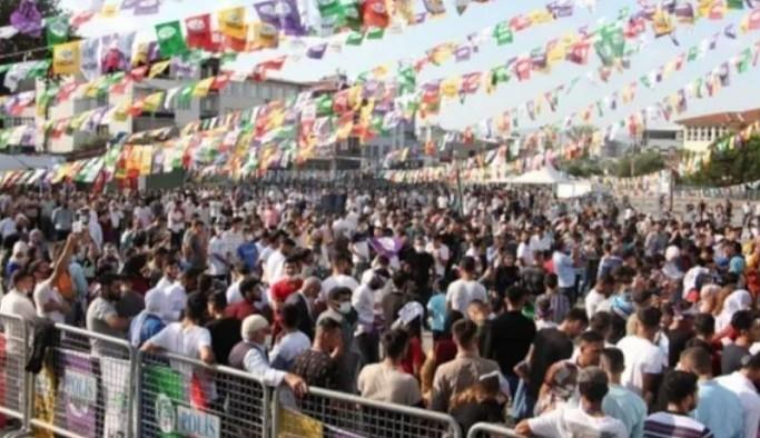 HDP'den Bursa'da halk şöleni: 'HDP'liyiz, her yerdeyiz'