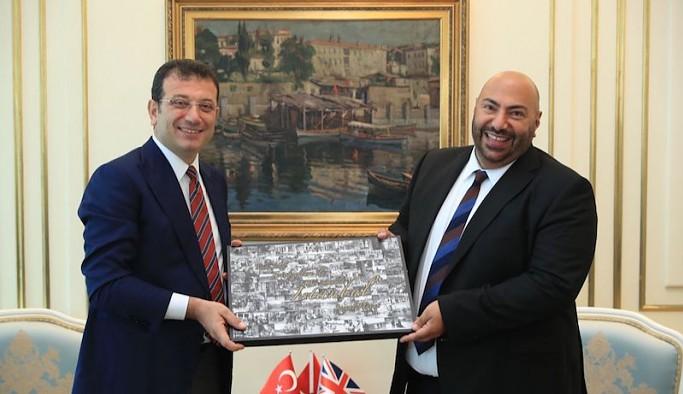 İngiltere'nin yeni başkonsolosundan İmamoğlu'na ziyaret: İstanbul çok önemli bir rol model olabilir