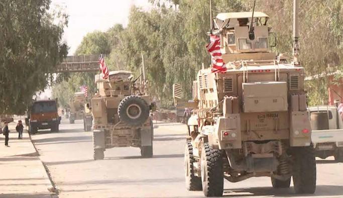 ABD kuvvetleri Haseke'nin kuzeyinde M4 Karayolu üzerinde devriye gerçekleştirdi