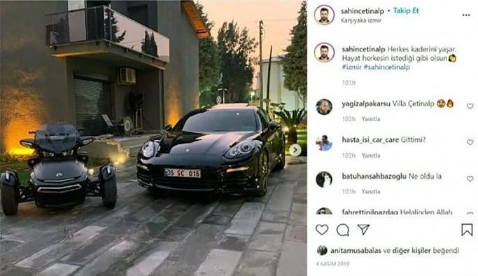 Bir TÜGVA'lının hayatı: Birden fazla lüks araç, AKP plaka, araç içinde şampanya...