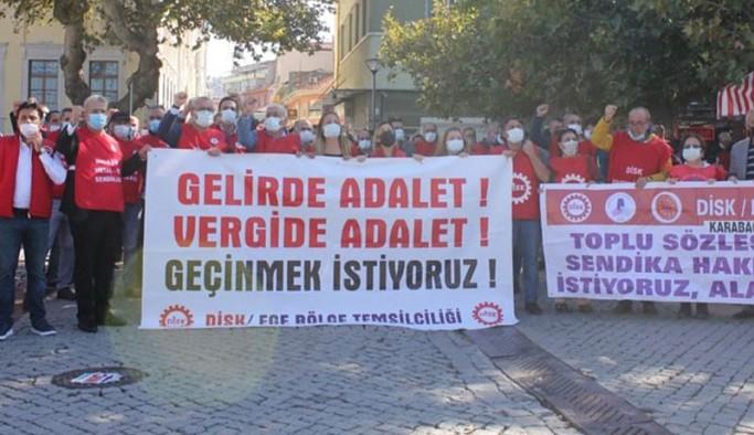 DİSK'ten 'asgari ücretten vergi alınmasın' çağrısı