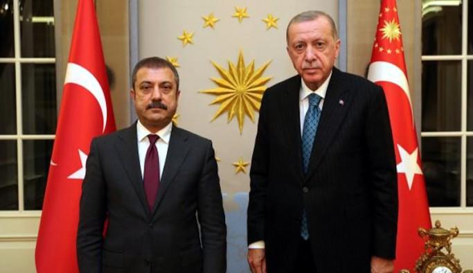 Erdoğan, görevden alınacağı iddia edilen TCMB Başkanı Kavcıoğlu'nu kabul etti