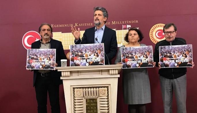 HDP'den 'bütçe' açıklaması: Saray'daki şatafata son vereceğiz