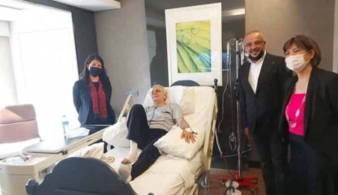 Pervin Buldan, Ahmet Türk'ü ziyaret etti