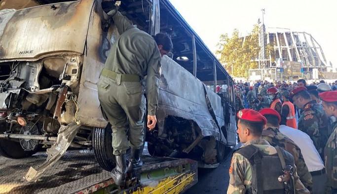 Şam'da patlama: İlk belirlemelere göre 13 ölü, 3 yaralı