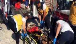 Bartın'da halı silkeleyen 3 öğrenci pencereden düştü
