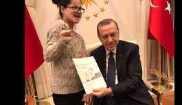 Erdoğan; Gülşa'ın  ailesine ev hediye etti.