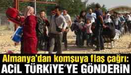 Almanya'dan Yunanistan'a mülteci uyarısı: Acilen Türkiye'ye iade edin