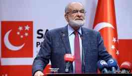 Karamollaoğlu: Kanal İstanbul'dan dönemezler çünkü rant var